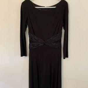 Anne Klein black dress size 4. Never worn.